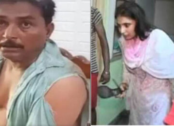 Wife Violently Beat Husband – Time For Mard-March?